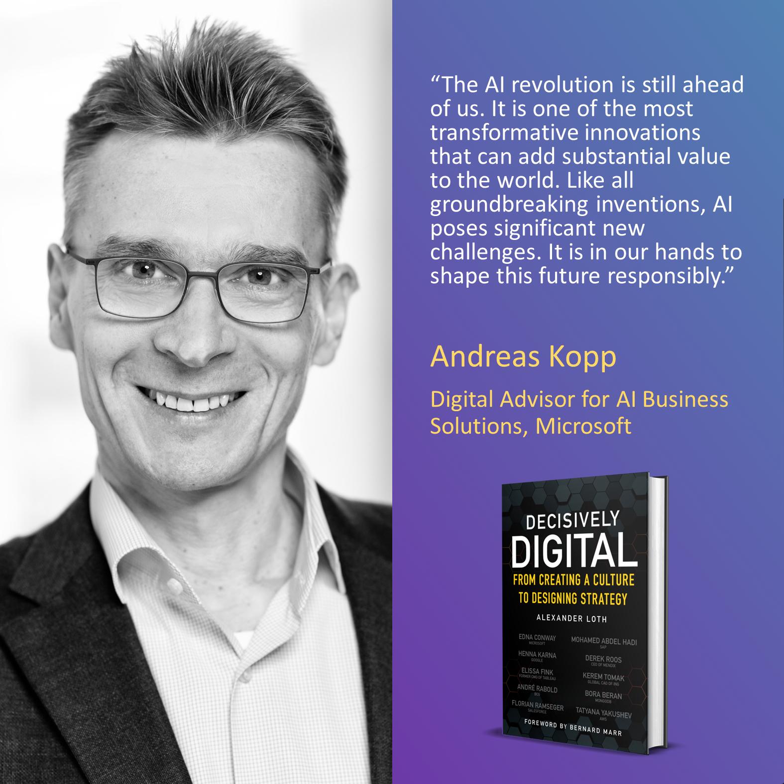 Andreas Kopp, Microsoft