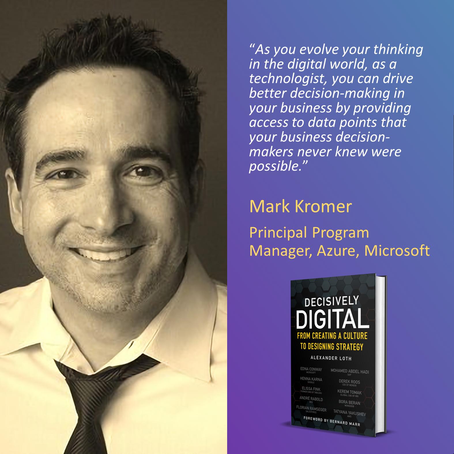 Mark Kromer, Microsoft