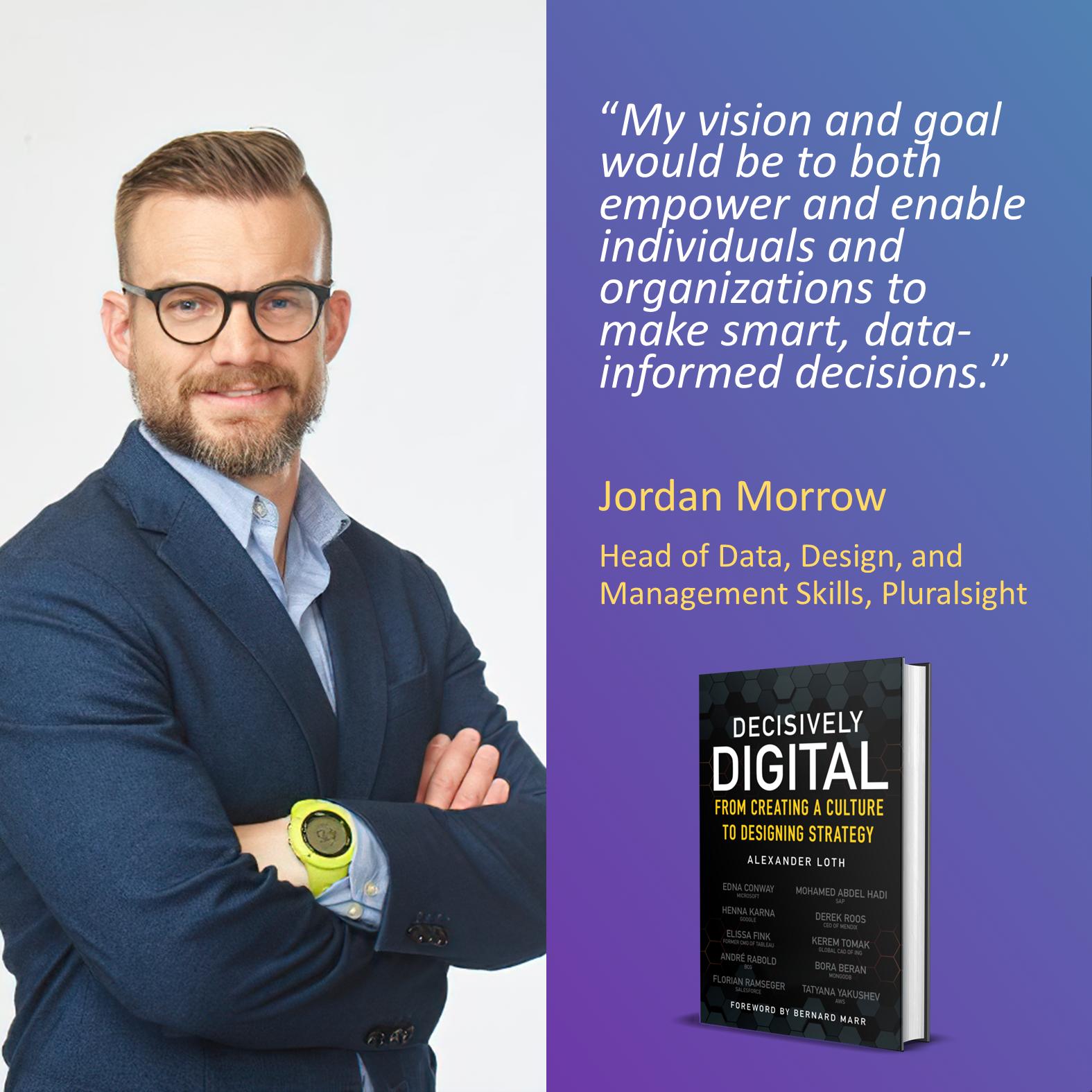 Jordan Morrow, Pluralsight