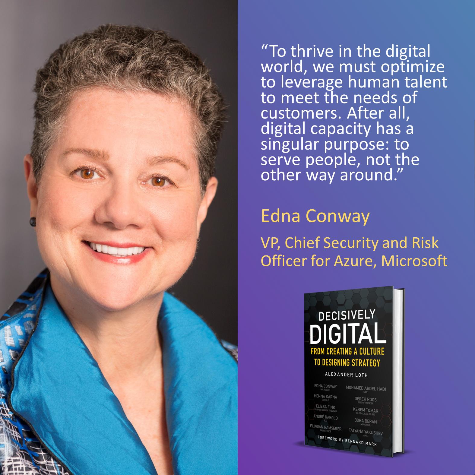 Edna Conway, Microsoft