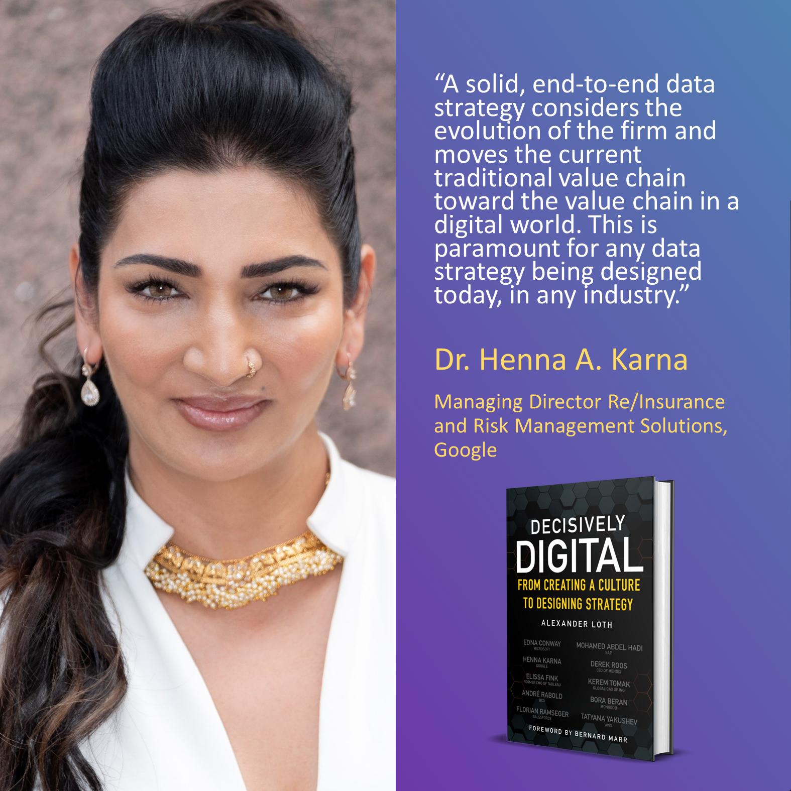 Dr. Henna A. Karna, Google